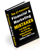 27 Financial and Marketing Mistakes Report